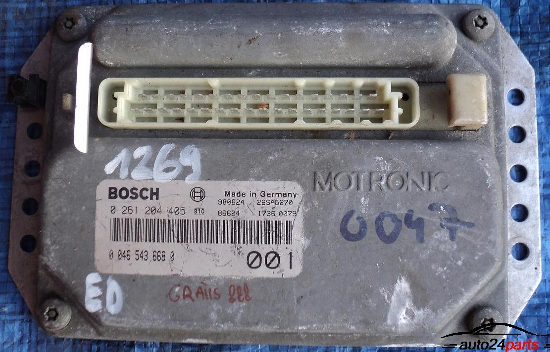Calculator motor ECU FIAT BRAVA 1.4 12V 0261204405