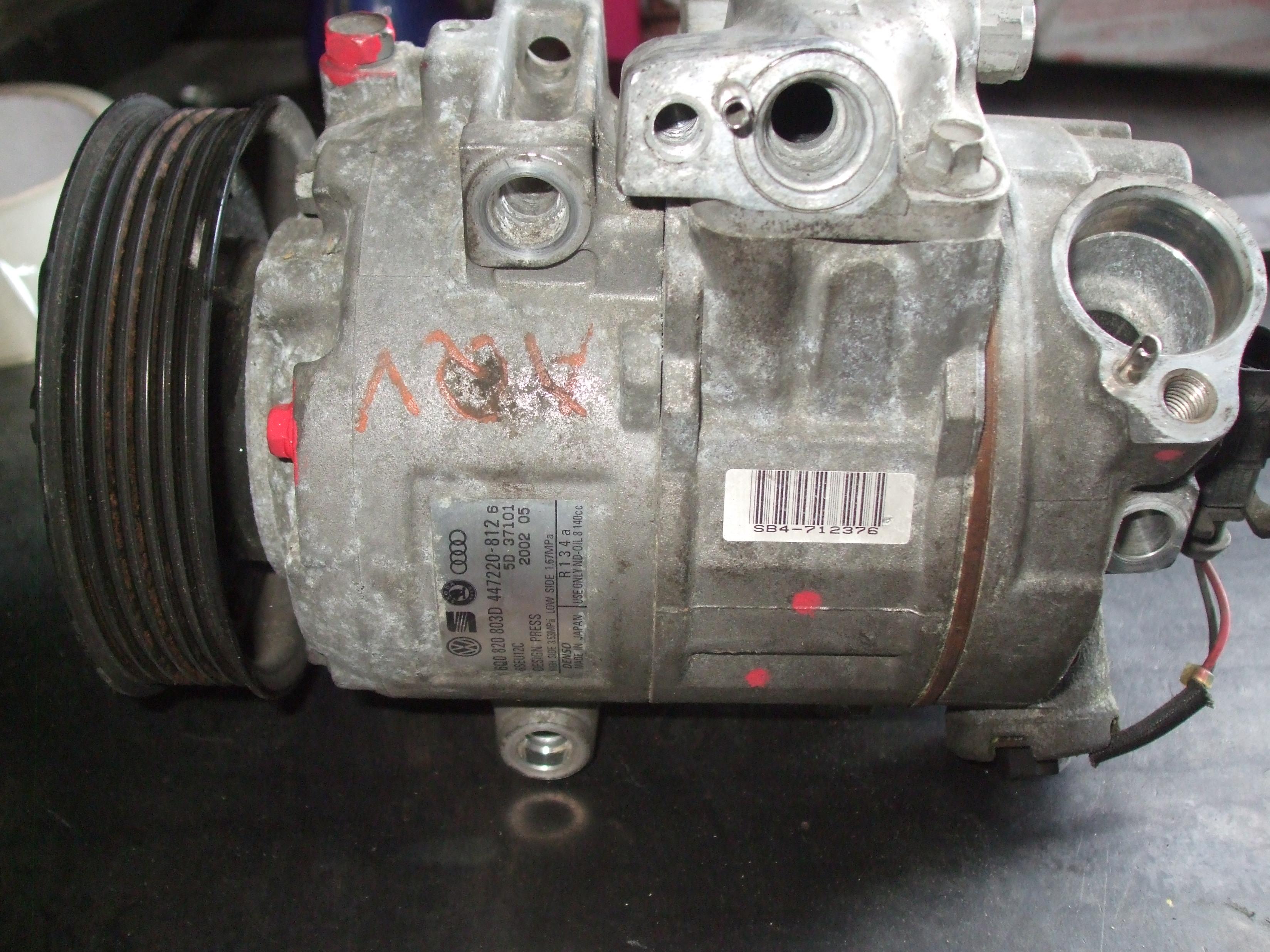 Compresor AC Skoda Fabia 6Q0820803D 6SEU12C