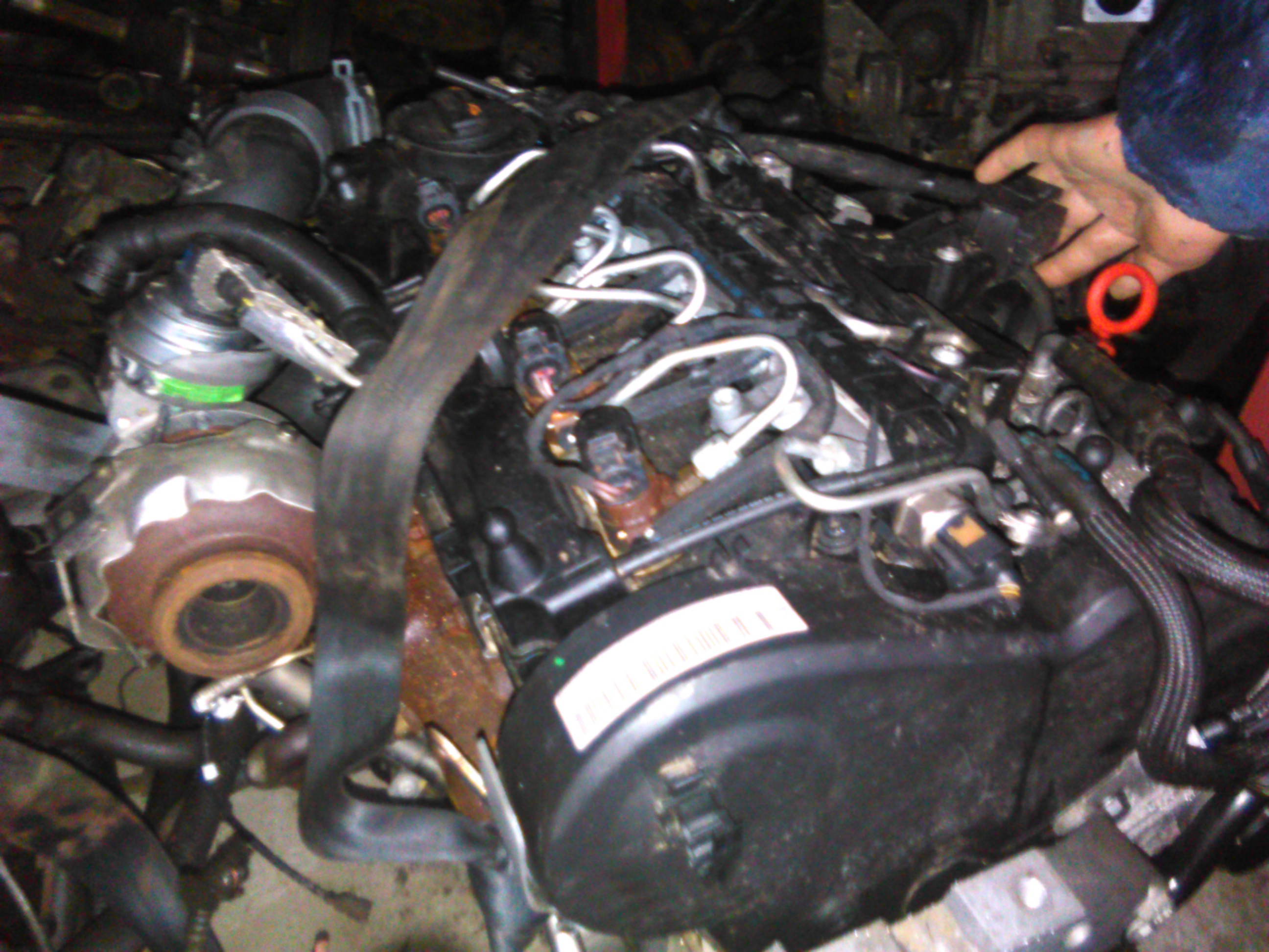 Motor CAY Vw Golf 6 1.6tdi