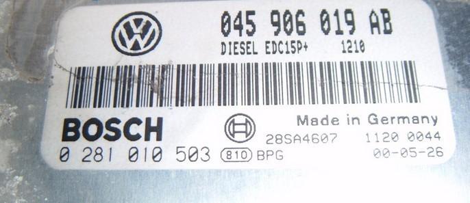 Calculator Volkswagen Polo 1.4tdi 045906019AB