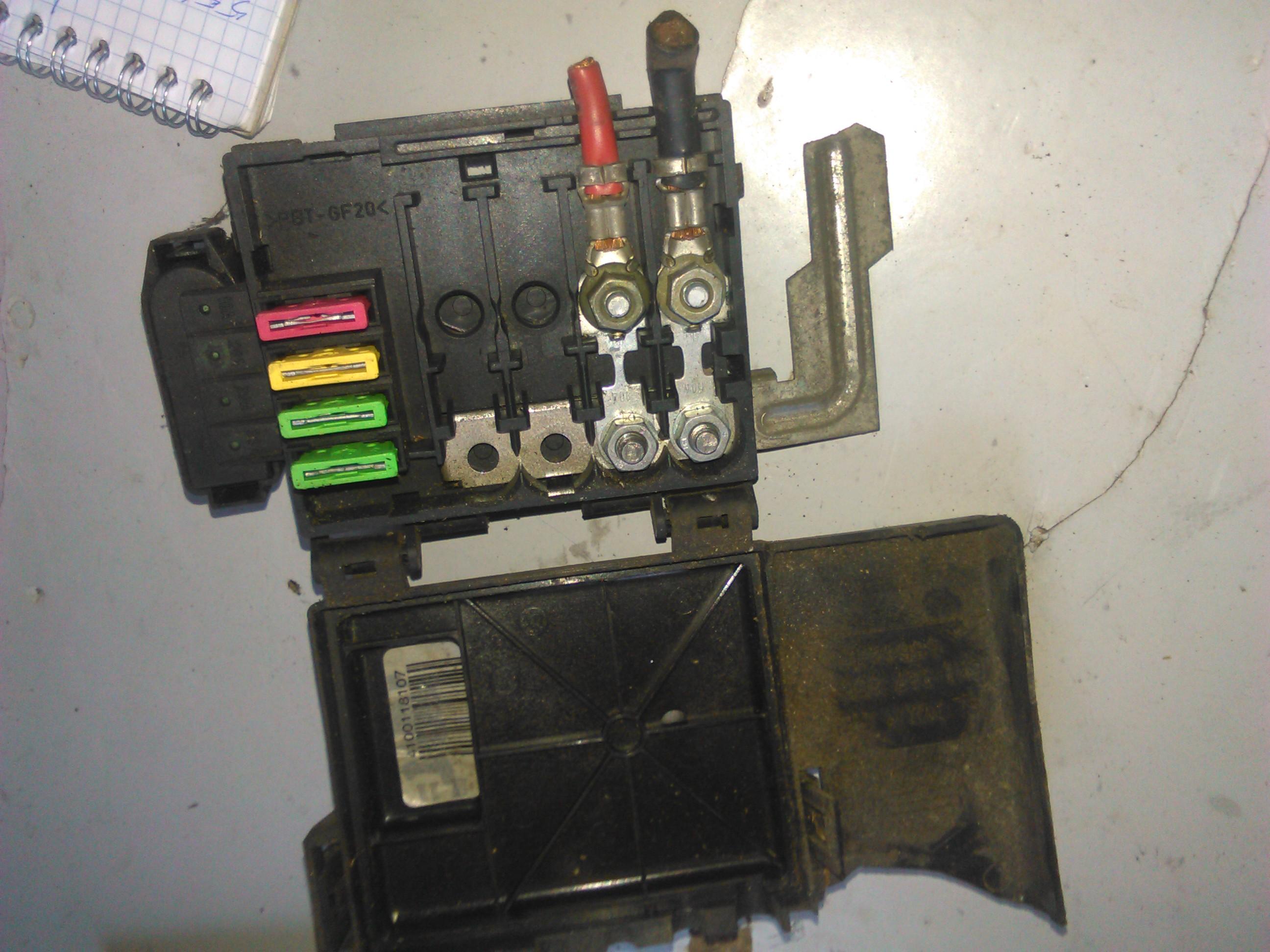 Sigurante baterie Vw Polo, Golf Iv, Lupo cod 6X0937550