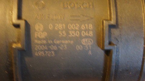 Debitmetru Opel Astra H 1.7cdti cod 55350048
