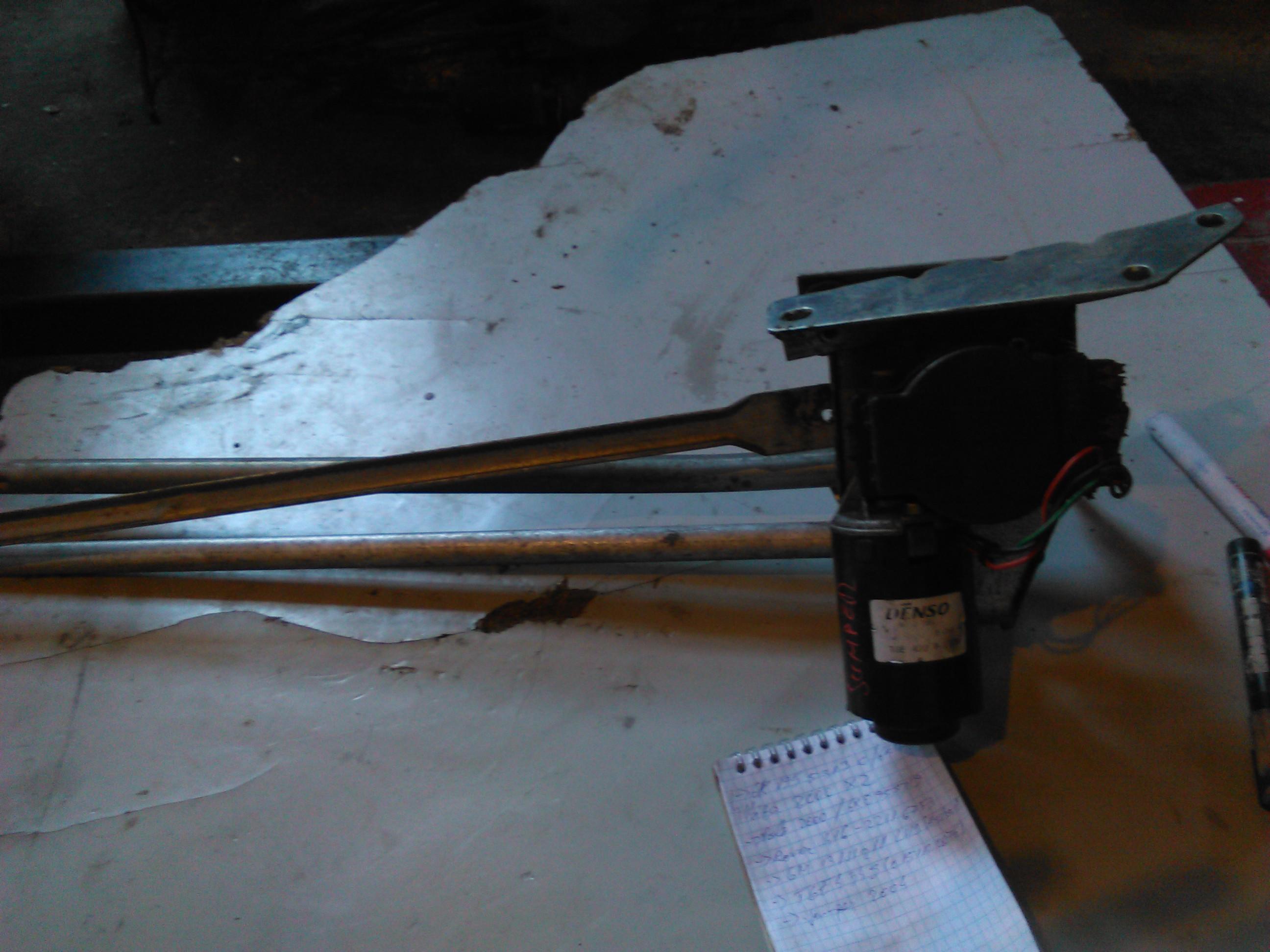 Ansamblu stergatoare Citroen Jumper 2.8hdi 2004 cod TGE422P
