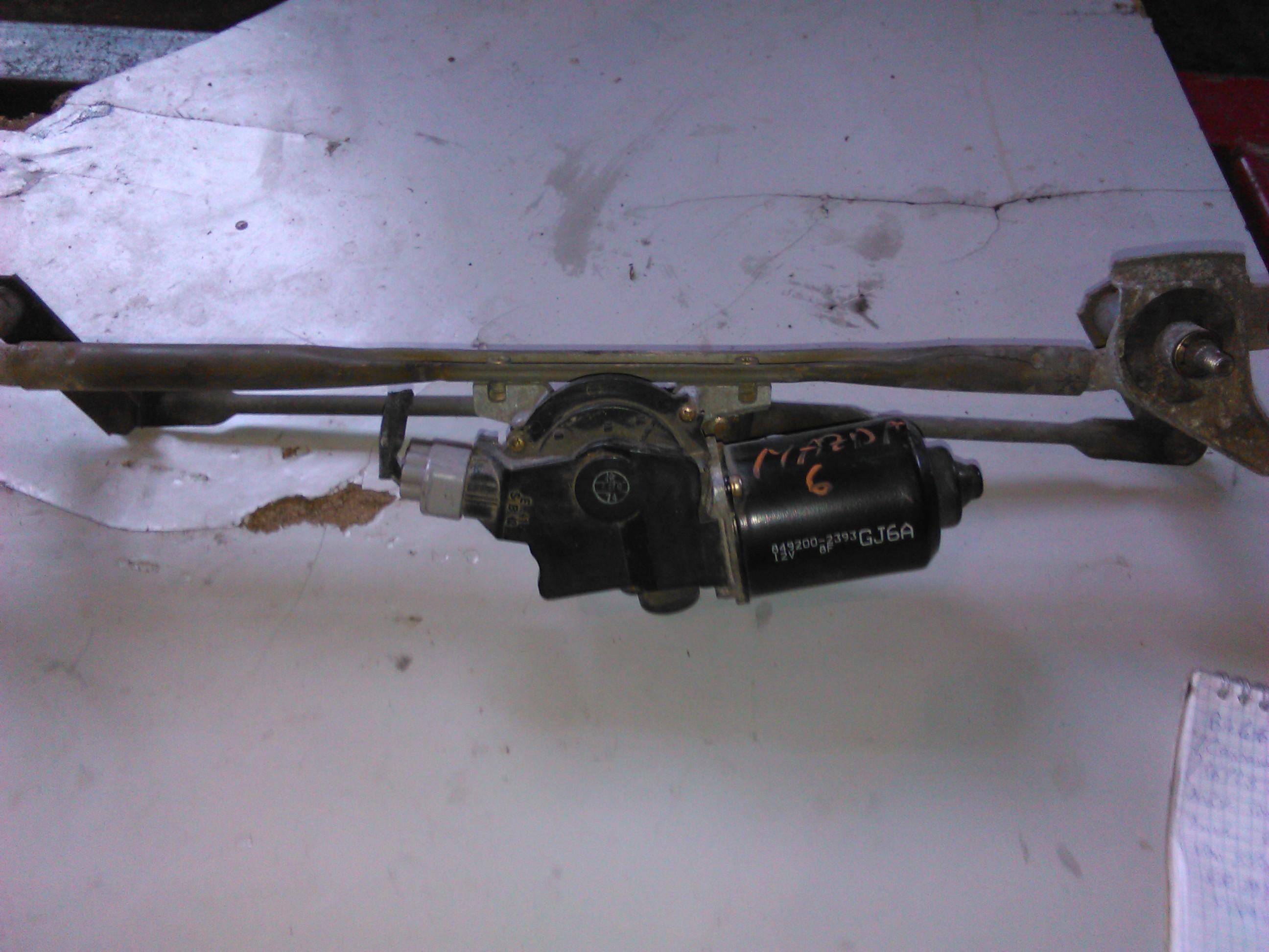 Ansamblu stergatoare Mazda 6 2.0di RF5C cod 849200-2393