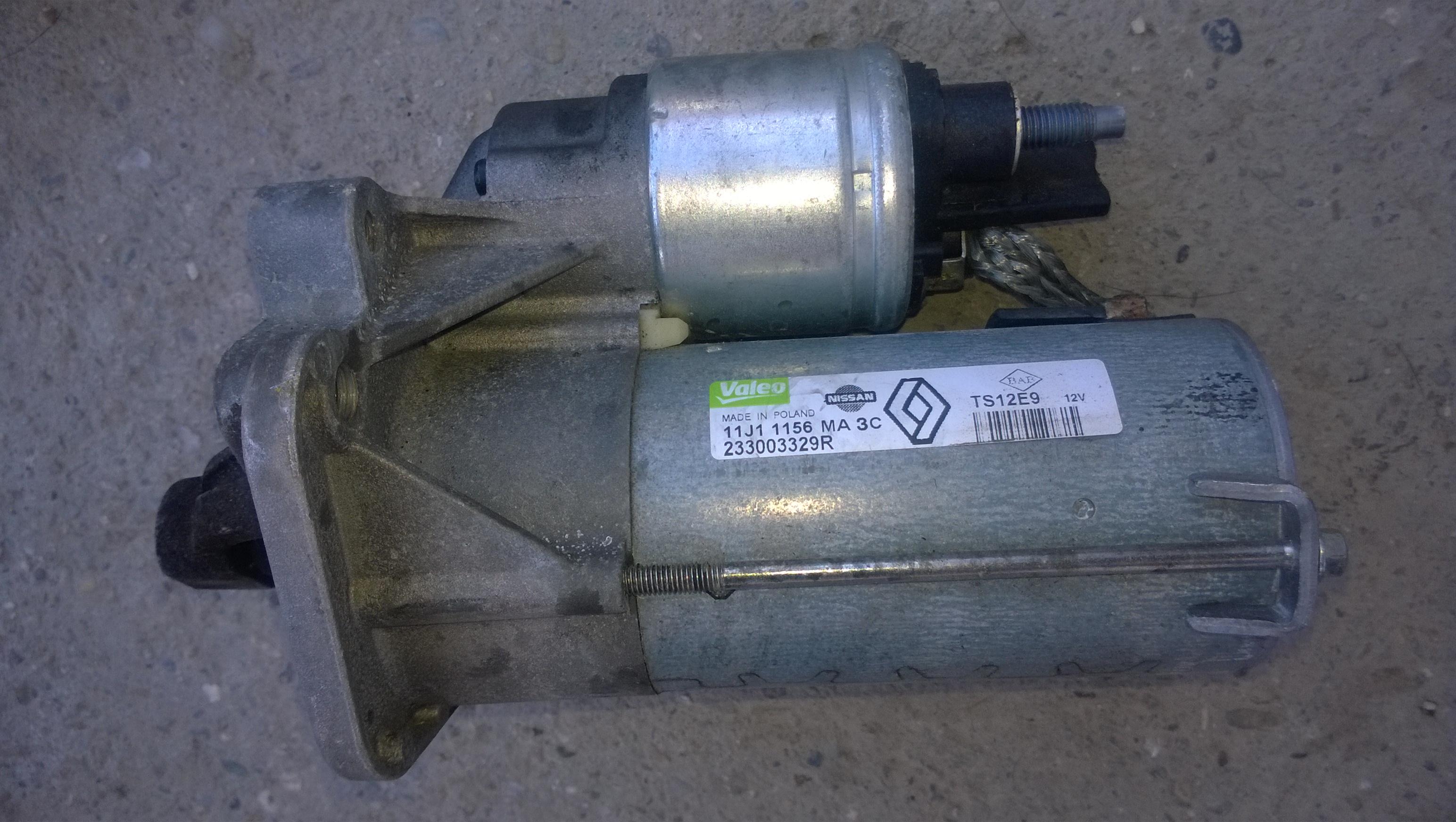electromotor demaror  Renault Megane 3 / Fluence ,1.5 dci  , original .