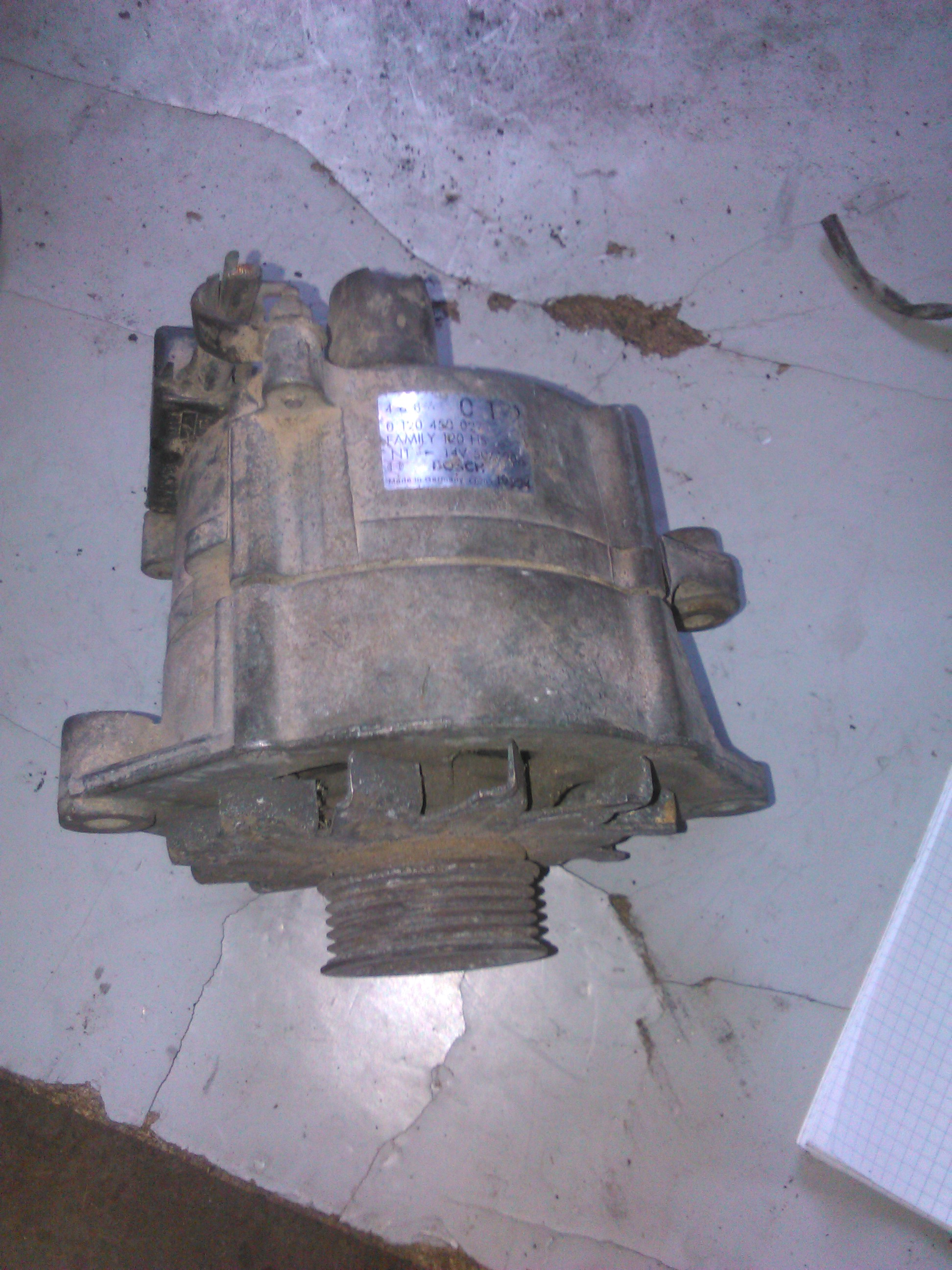 Alternator Chrysler Le Baron 2.2, Voyager 2.5d cod 0120450027