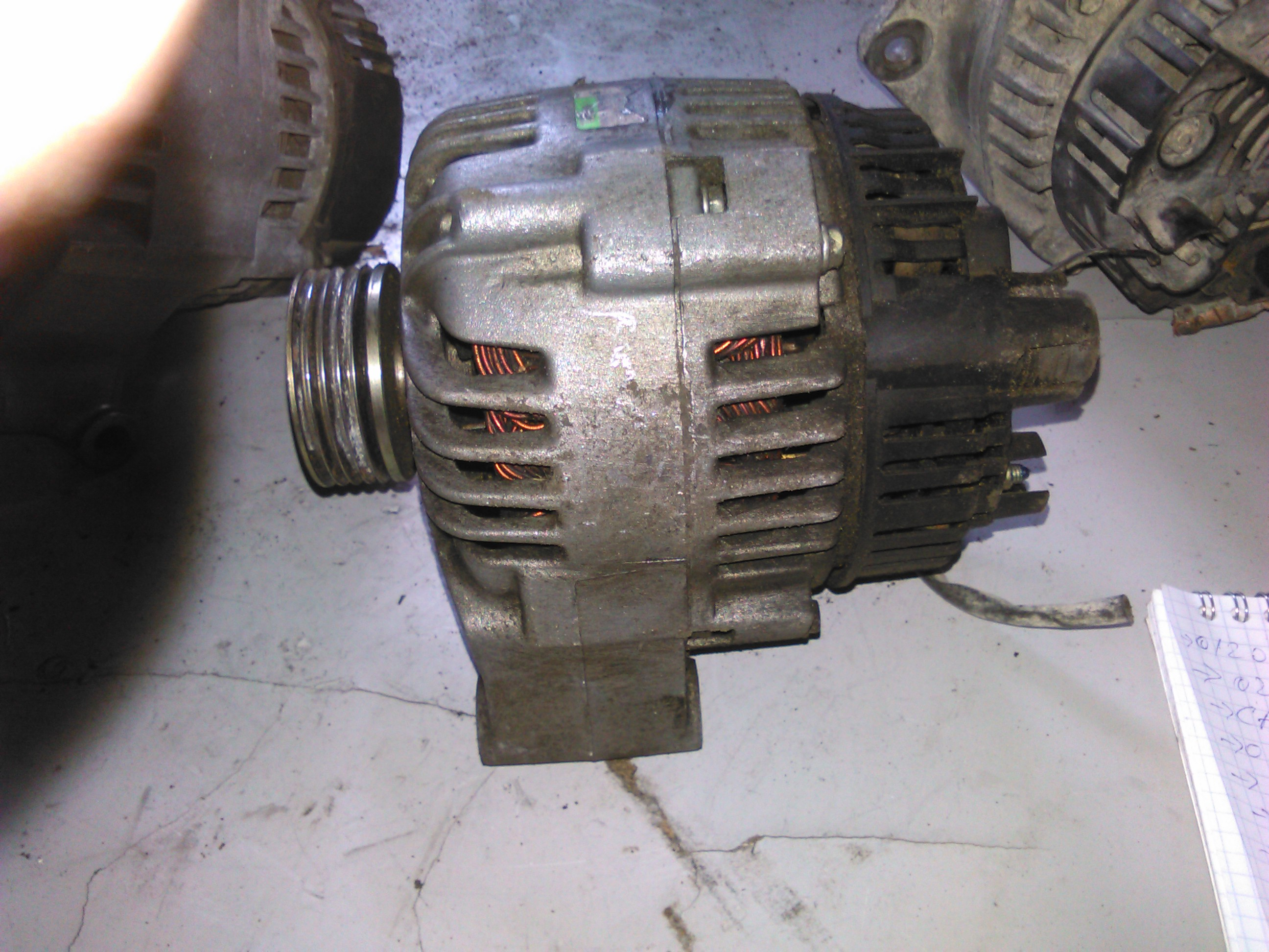 Alternator Citroen Saxo 1.1, Peugeot 106 1.1 cod 2541862b