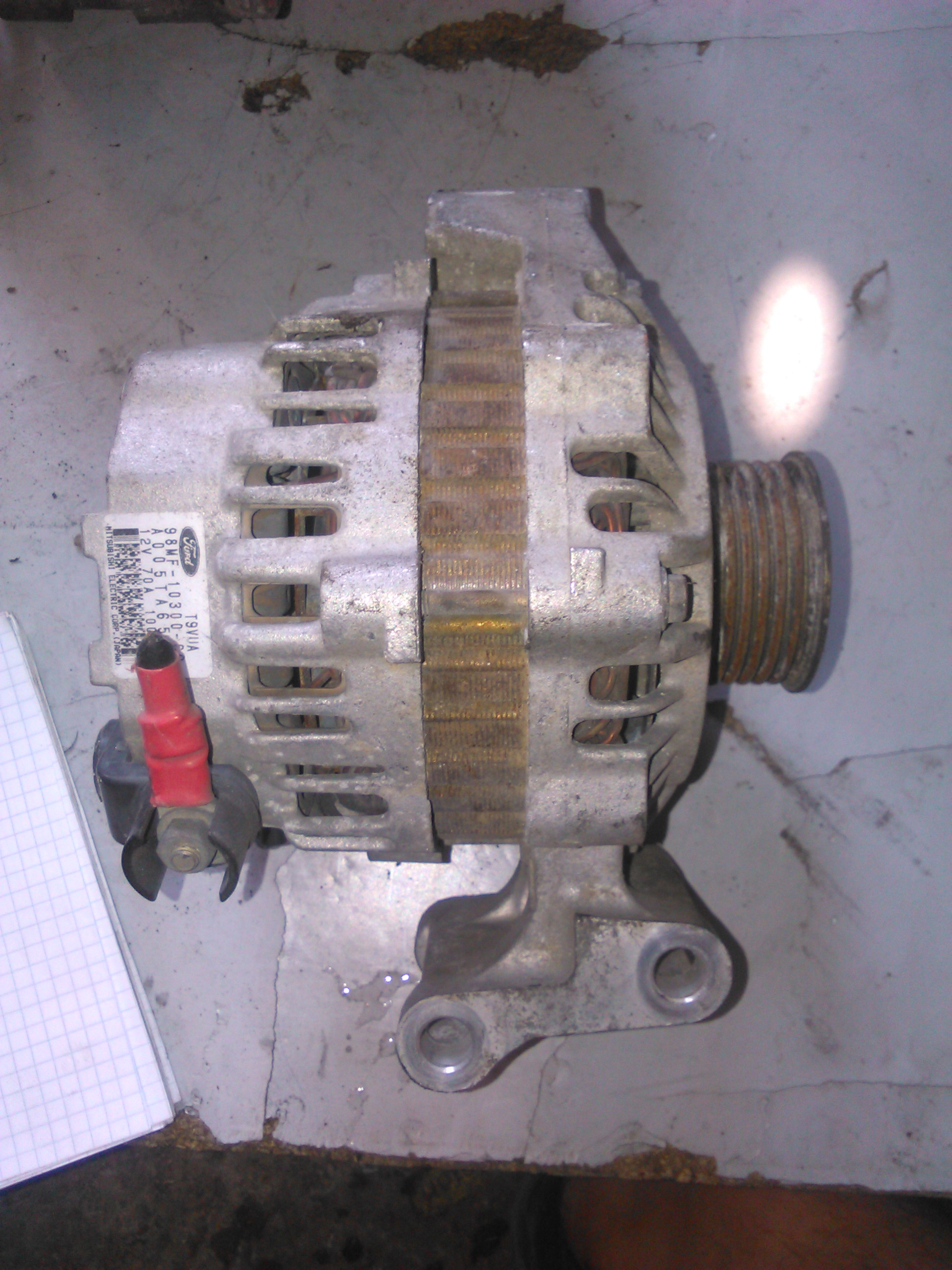 Alternator Ford Fiesta 1.25, Ford Puma cod 98MF-10300-CC