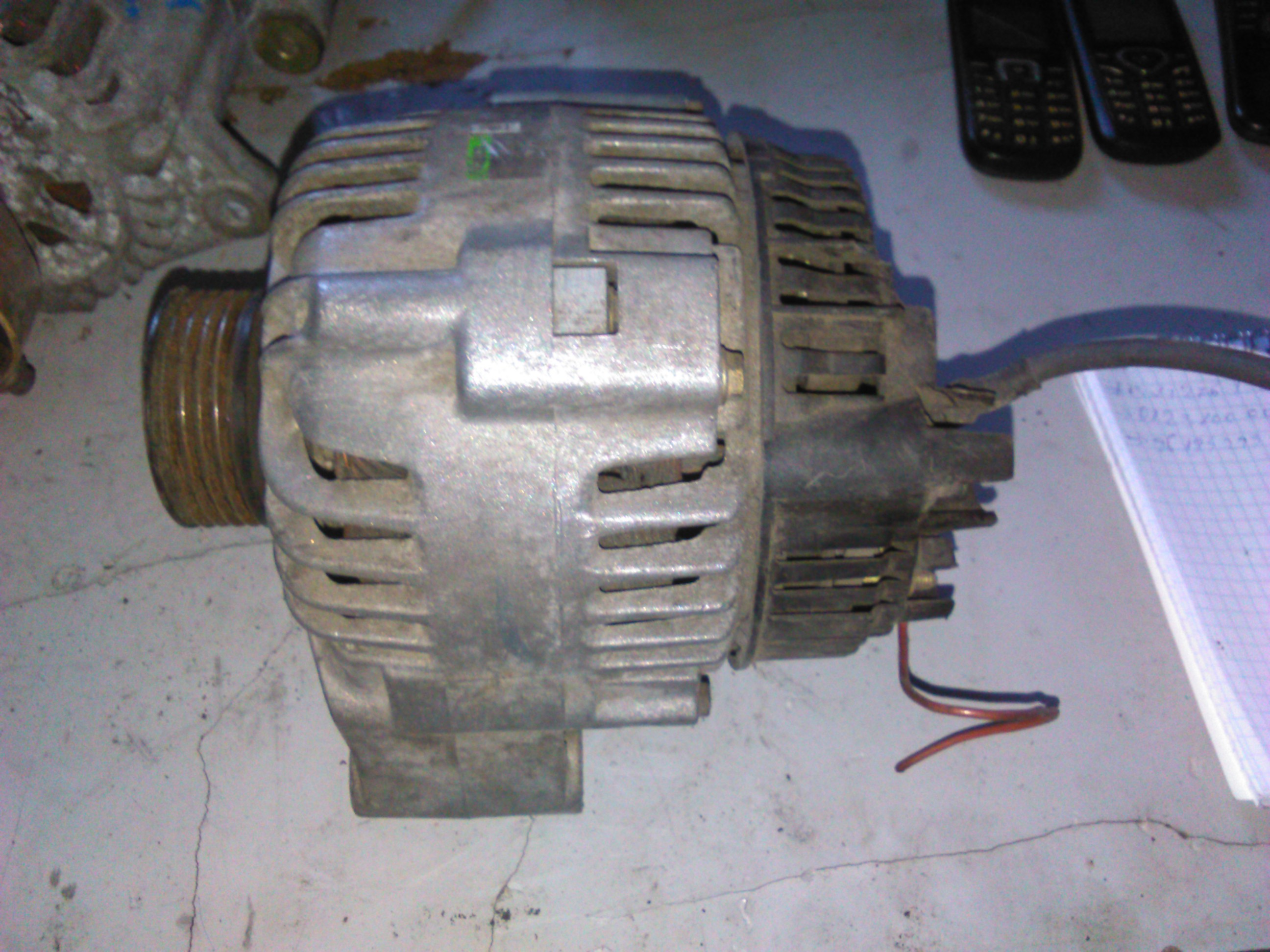 Alternator Peugeot 106 1.1, 1.4, 1.6, Citroen Saxo 1.1, 1.4, 1.6 cod 9619429380