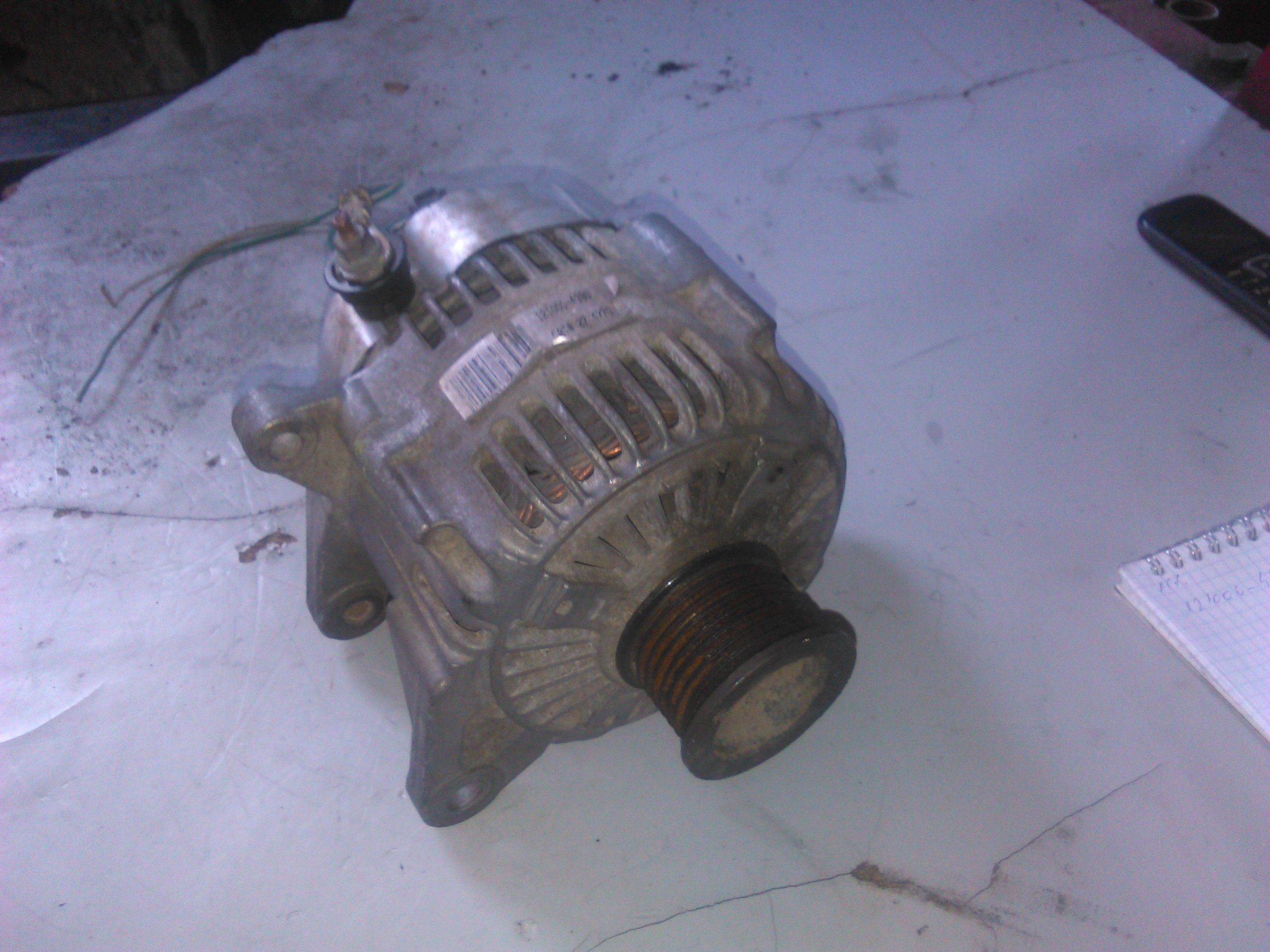 Alternator Jeep Grand Cherokee 3.1td 2001 cod 121000-4390