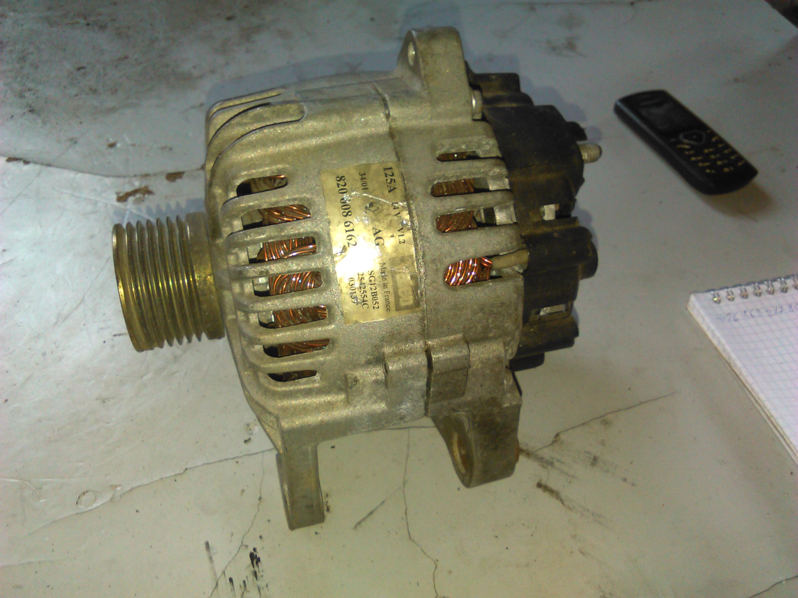 Alternator Renault Scenic II 1.9dci cod 8200086162