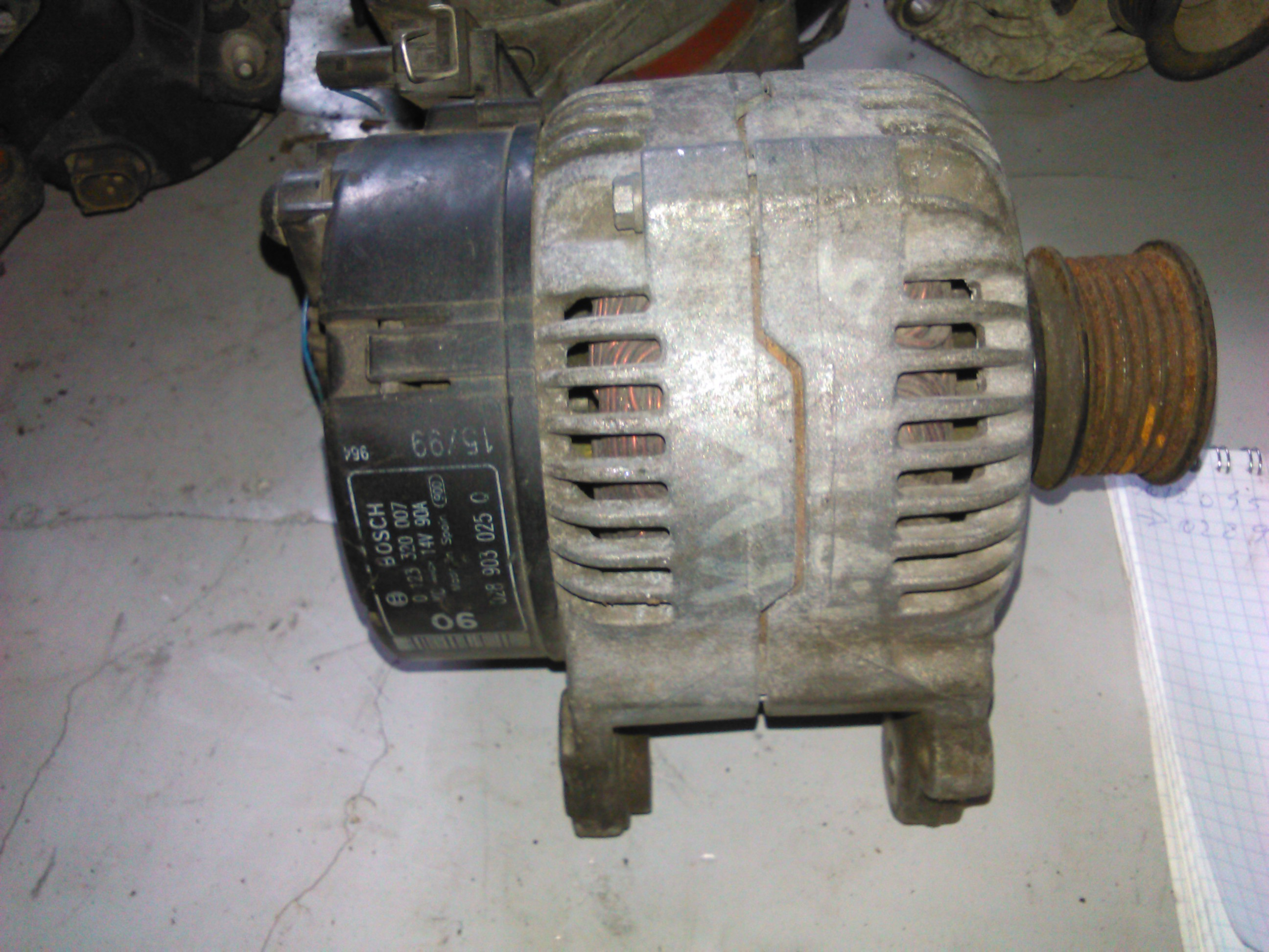Alternator Vw Passat, Polo, Golf IV 1.9sdi cod 028903025q