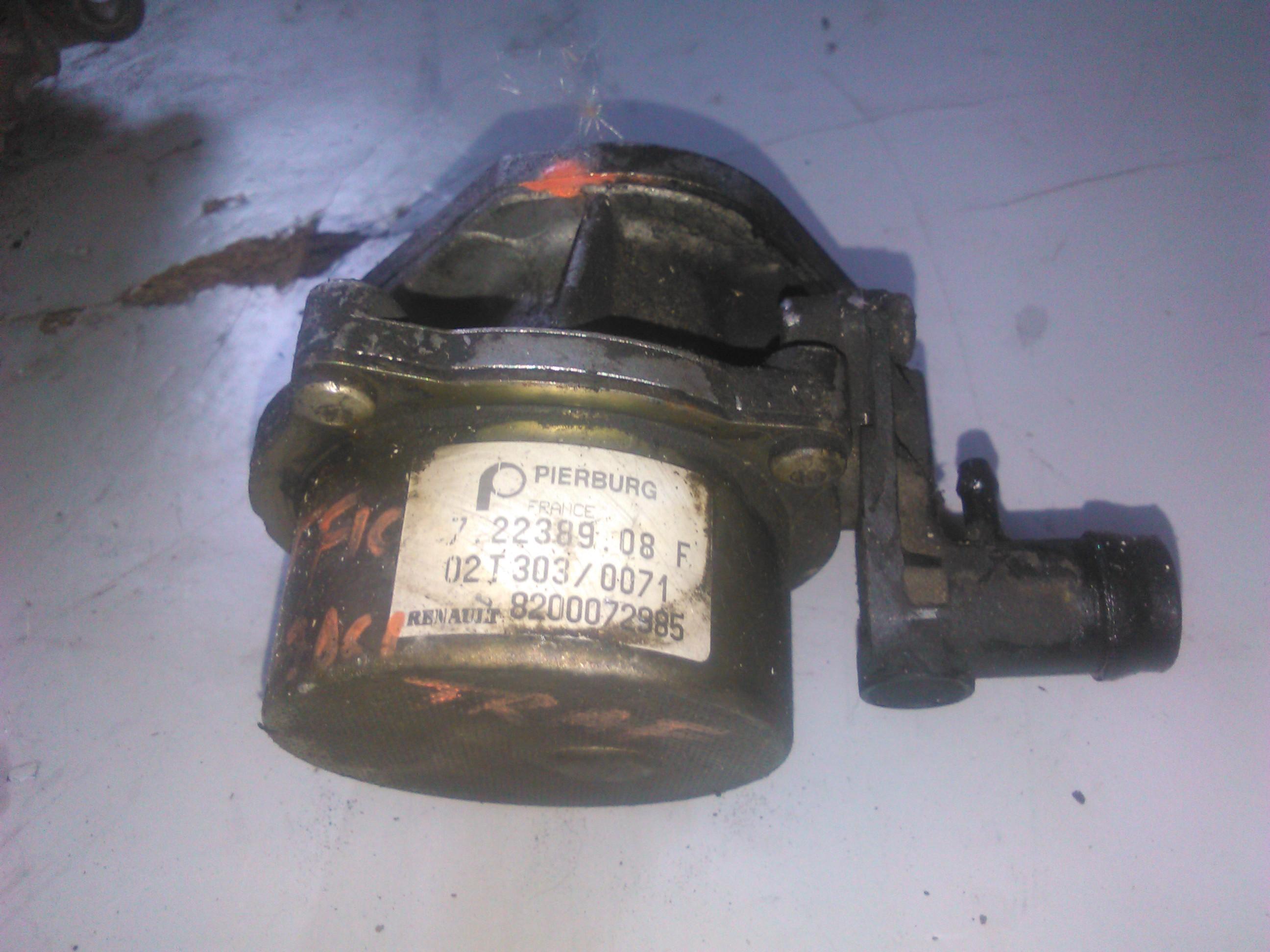 Pompa vacuum Renault Trafic 1.9dci cod 8200072985
