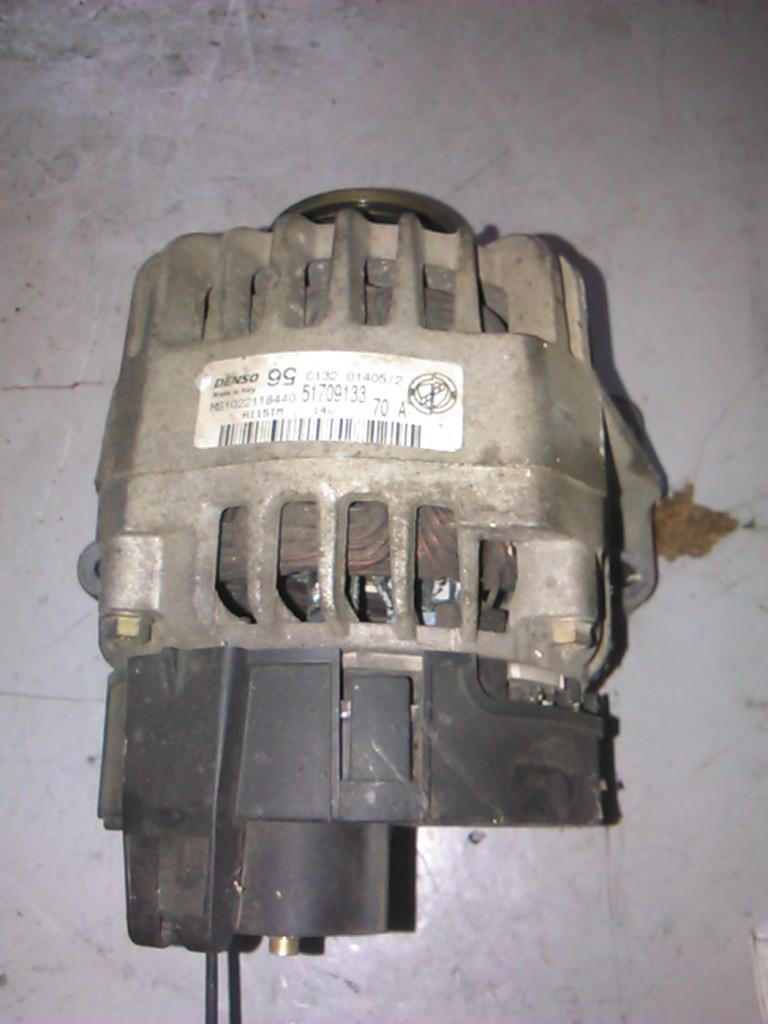 Alternator Fiat Stilo 1.4 16v cod 51709133