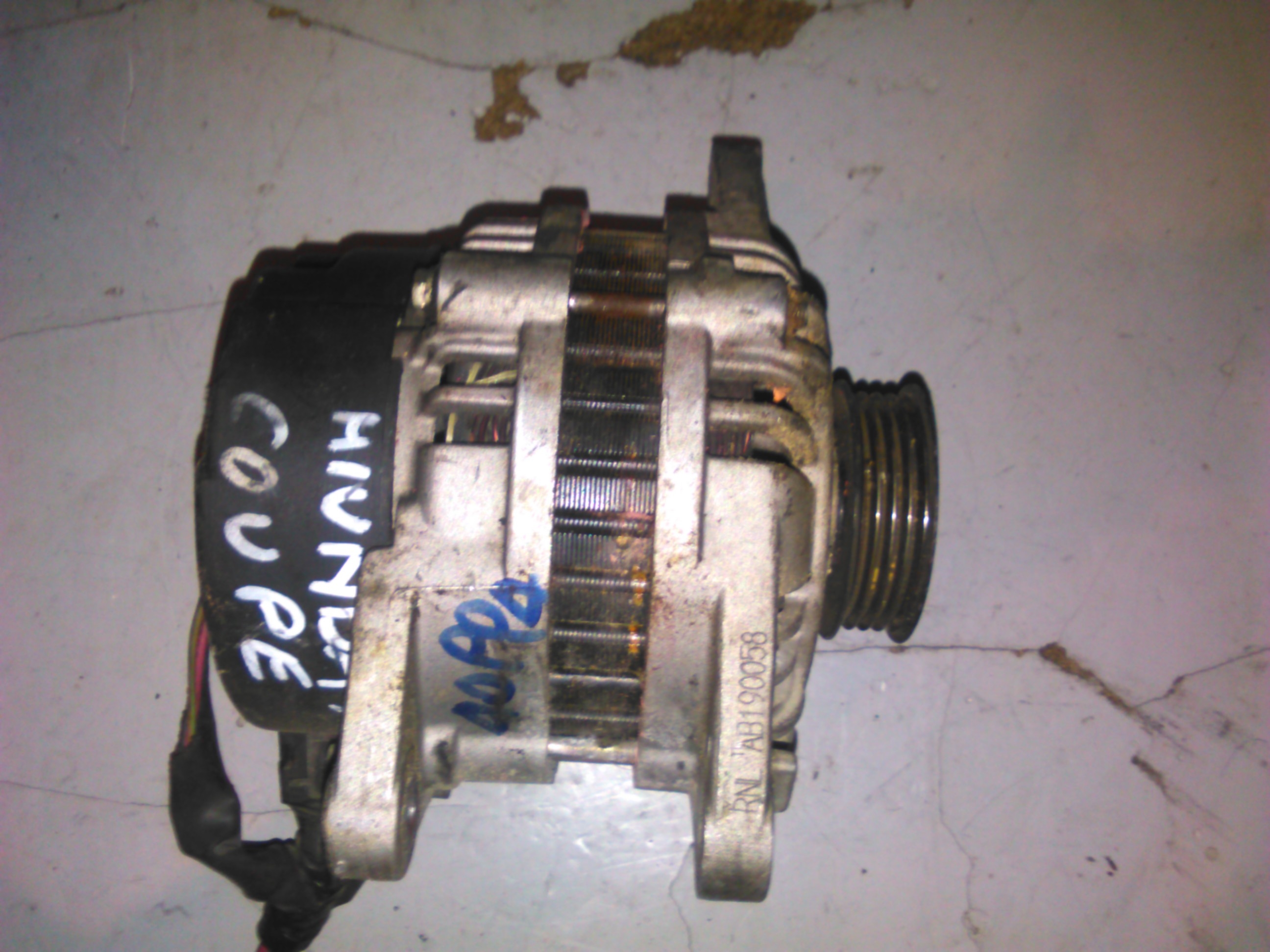 Alternator Hyundai Coupe, Elantra, Accent 1.6, 1.8 cod AB190058