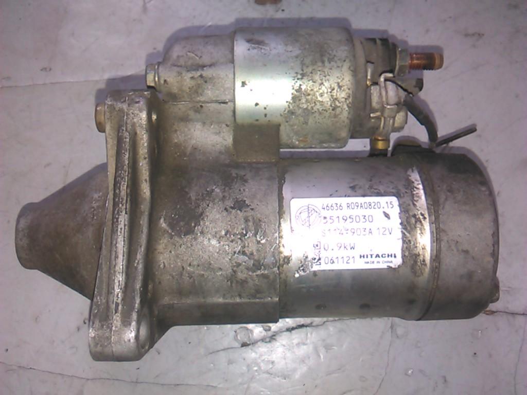 Electromotor Fiat Punto 1.2 8v cod 55195030