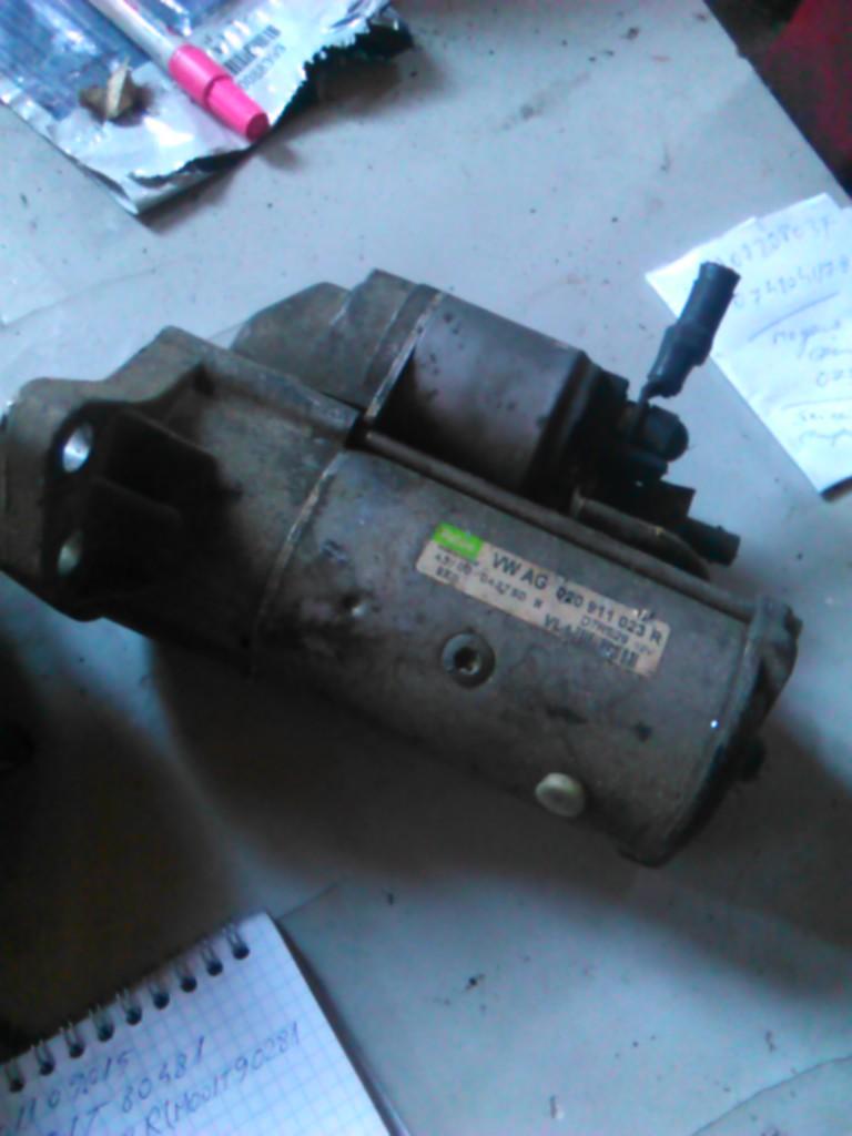 Electromotor Vw Jetta 1.6td, Passat 1.9tdi, Vw Golf IV 1.9tdi cod 020911023r, D7RS29