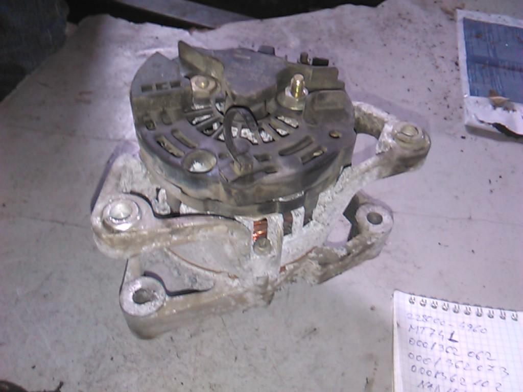 Alternator Opel Corsa C 1.0 70A cod 0124225018