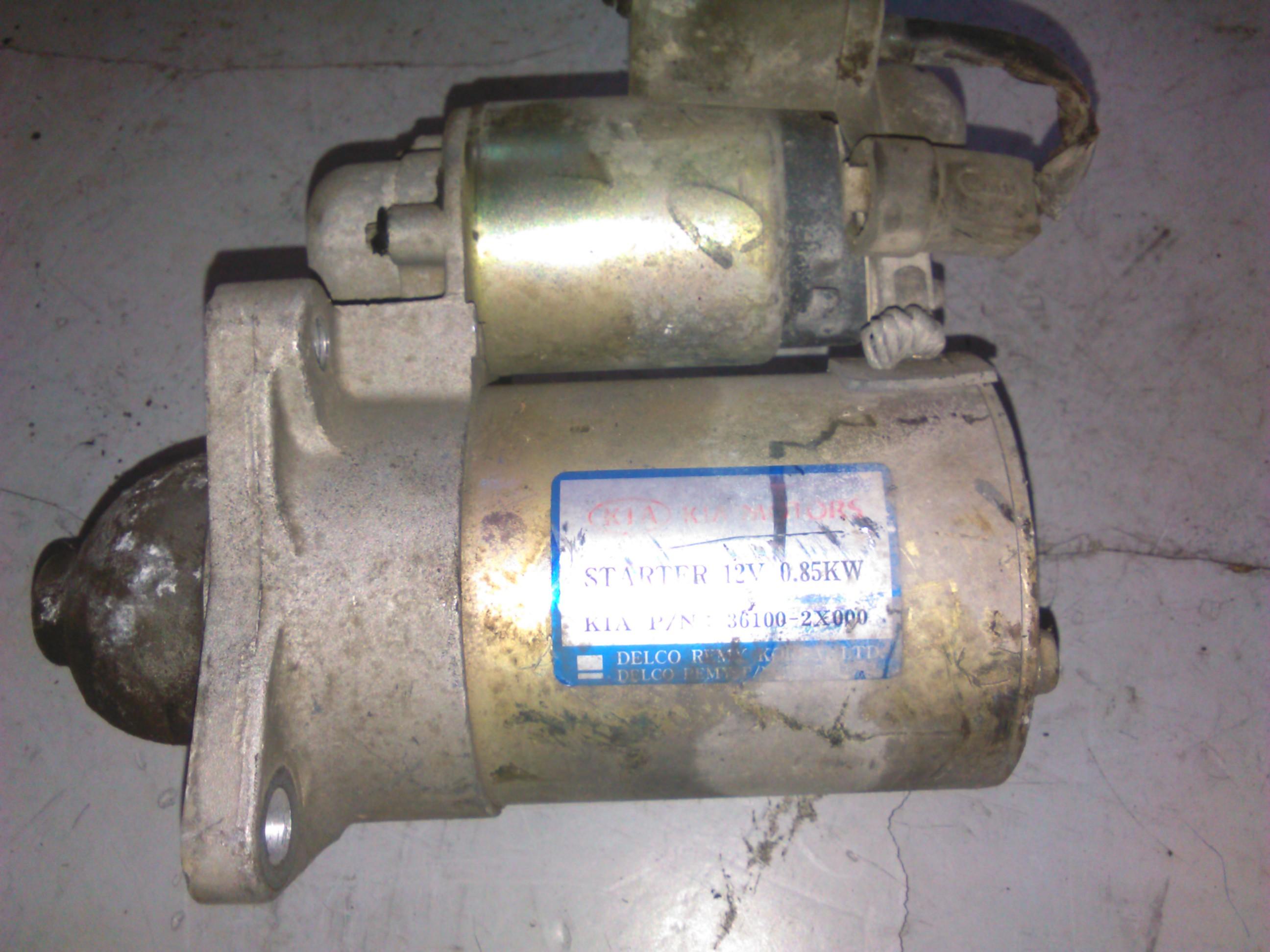 Electromotor Kia Carens 1.6, Kia Rio 1.5 cod 36100-2x000