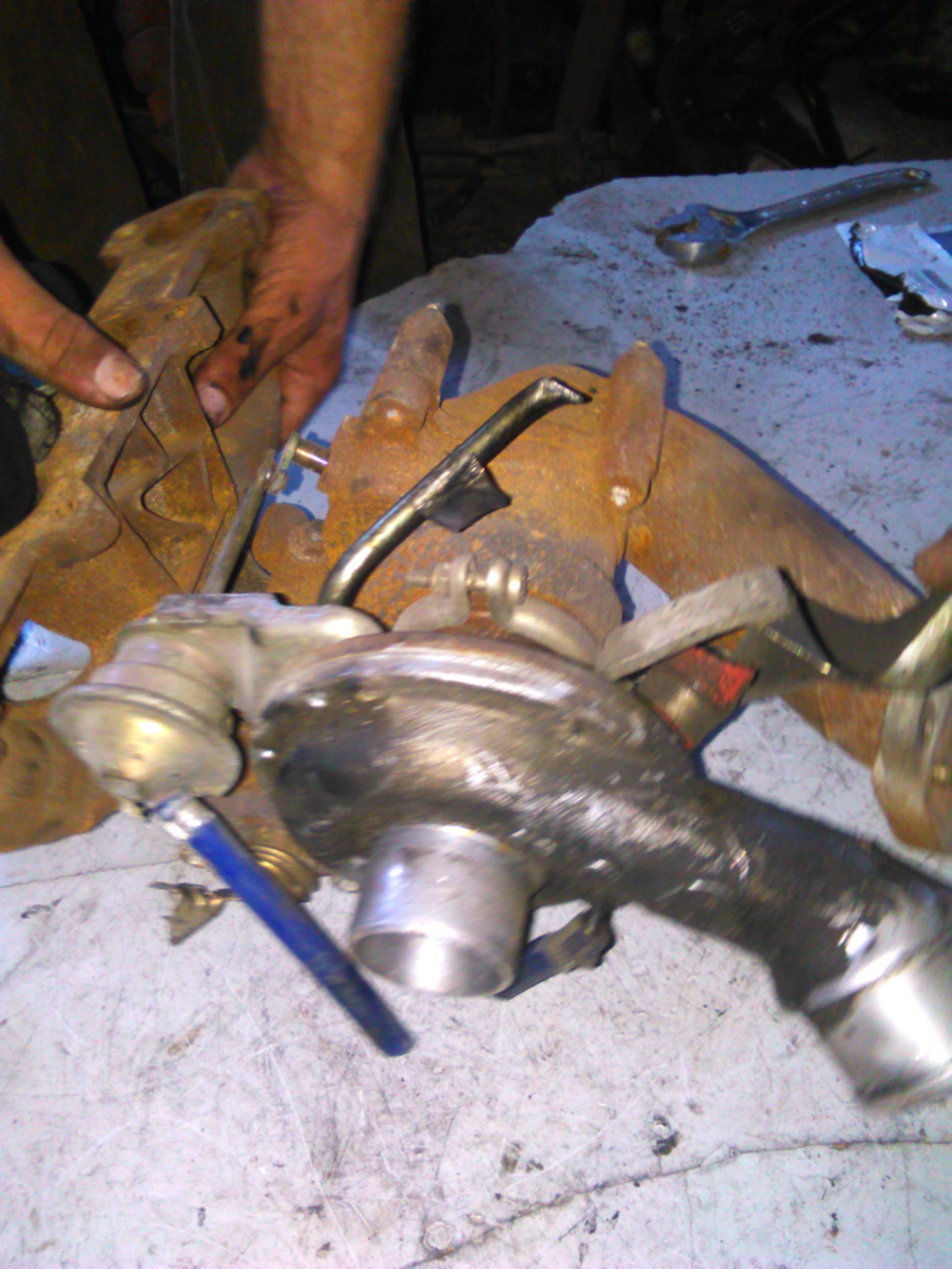 Turbina Fiat Stilo 1.9JTD, Punto cod 46556011