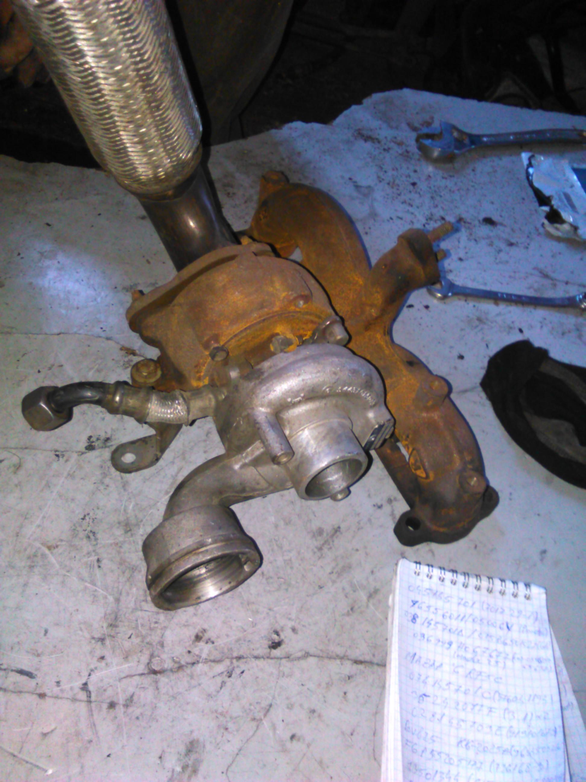 Turbina Opel Combo 1.3CDTI, Tigra 1.3 cod 73501344