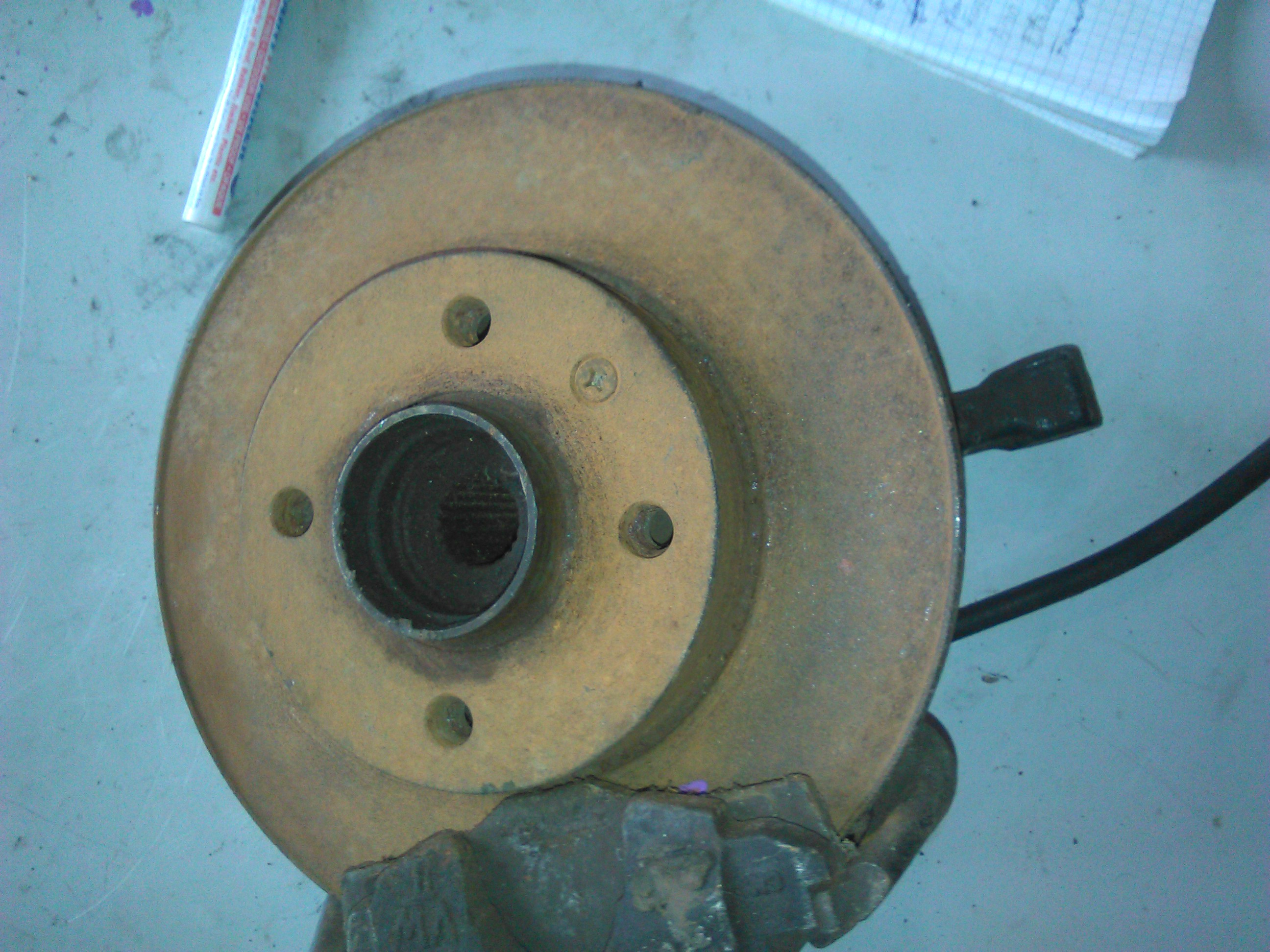 Disc Frana Vw Golf III