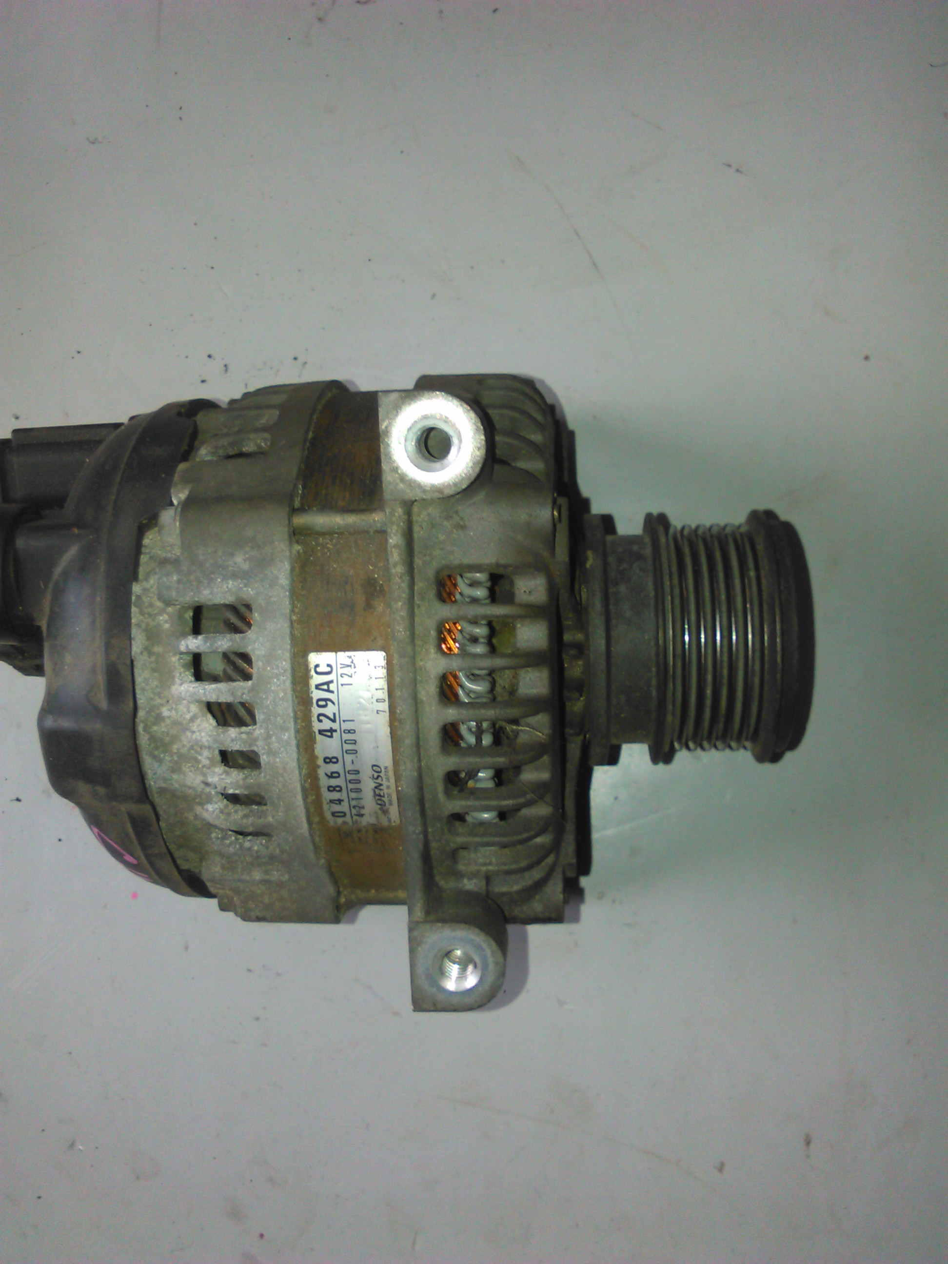 Alternator Chrysler Voyager 2.5 crd cod 04868-429AC