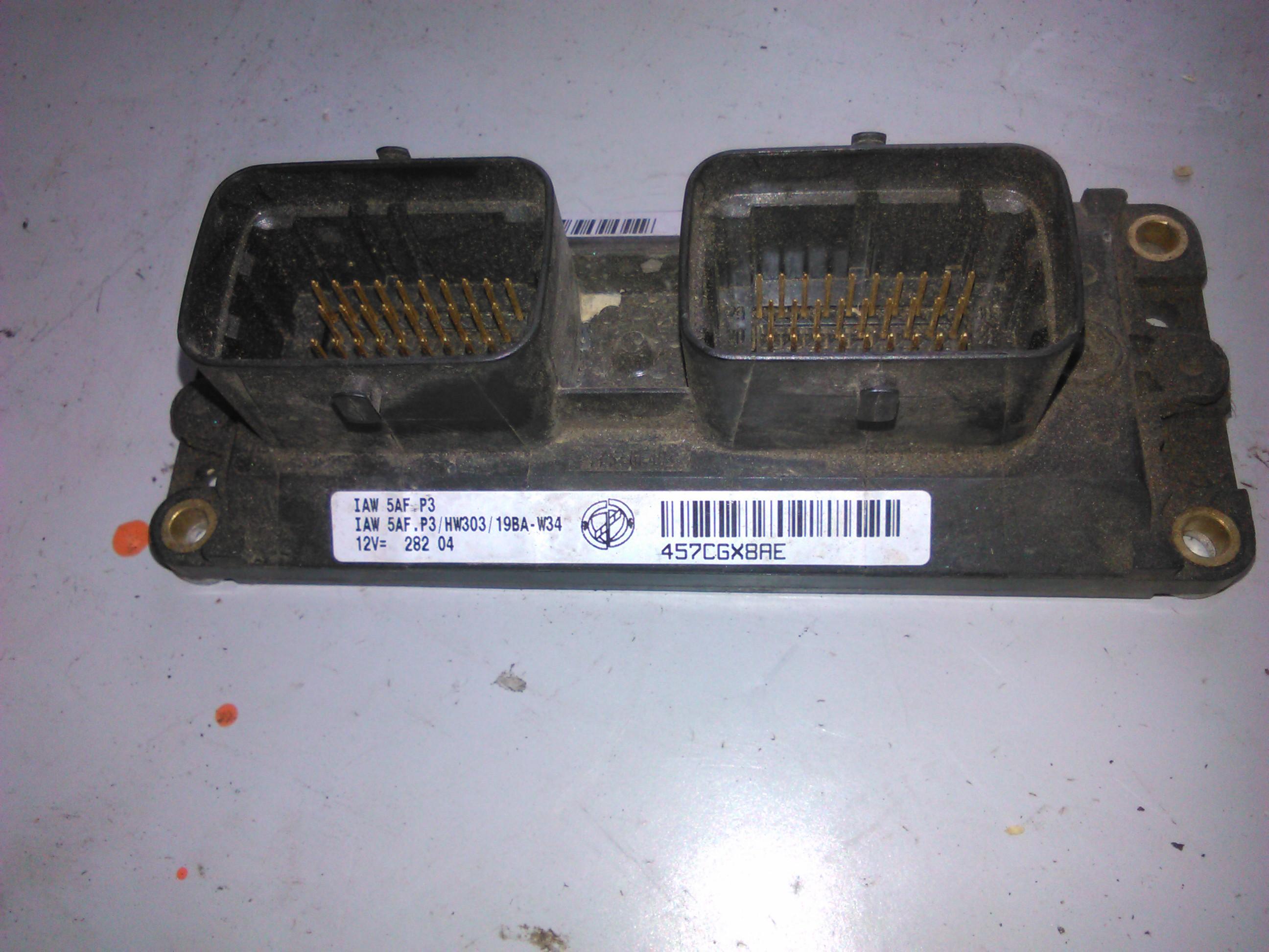 Ecu Fiat Punto 1.2 cod iaw 5afp3