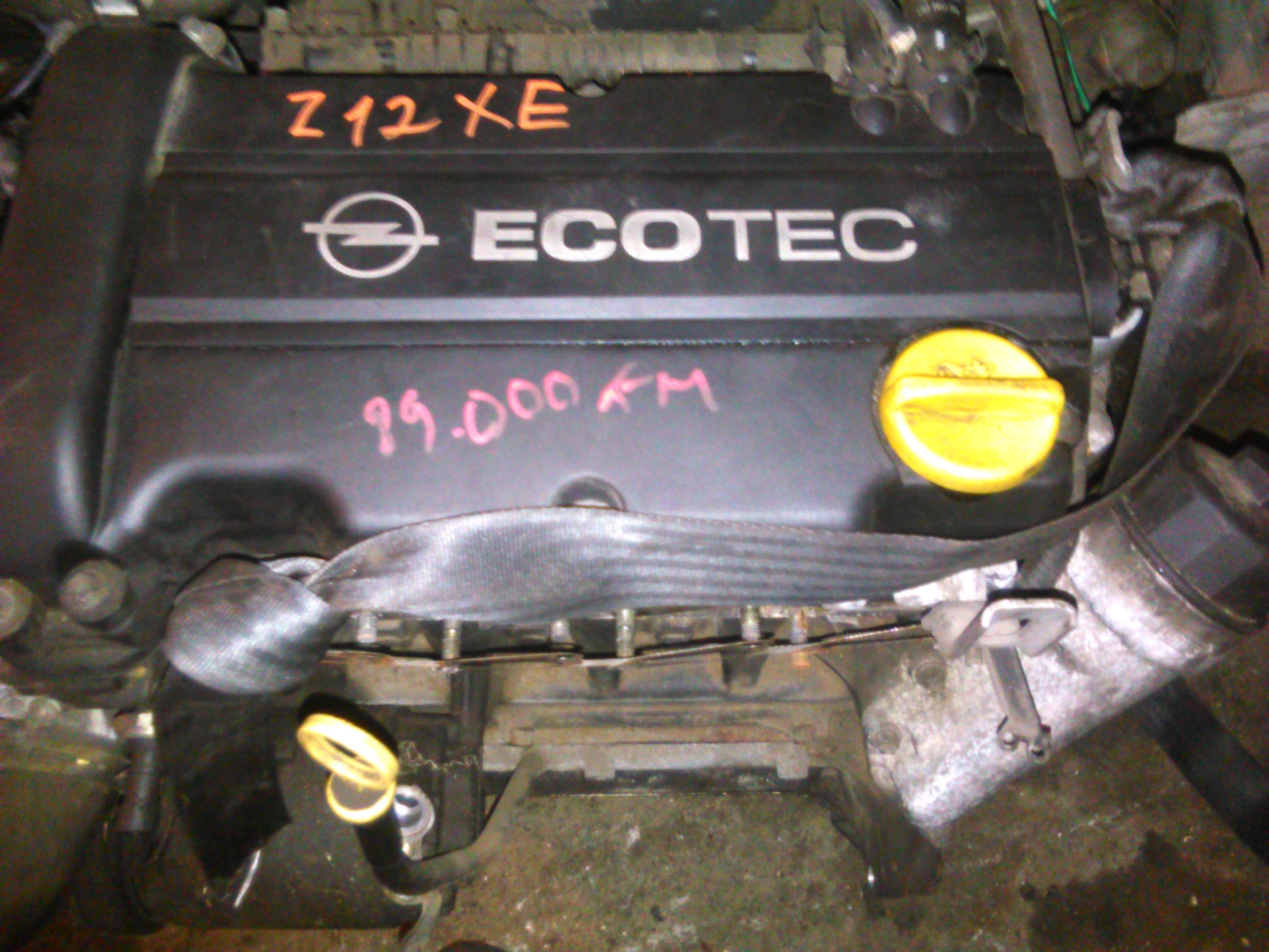 Motor Opel Corsa C, Agila 1.2 cod Z12XE