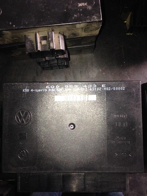 Calculator confort VW Polo 9N 2004 6Q0959433E