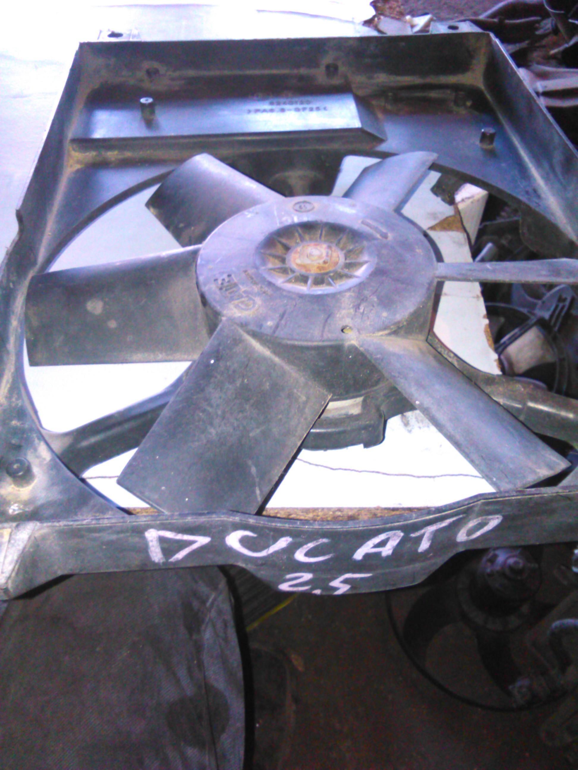 Electroventilator Fiat Ducato 2.5d cod 8140120