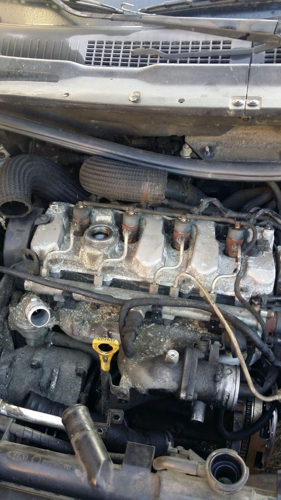 Motor Hyundai Santa Fe 2.0crdi