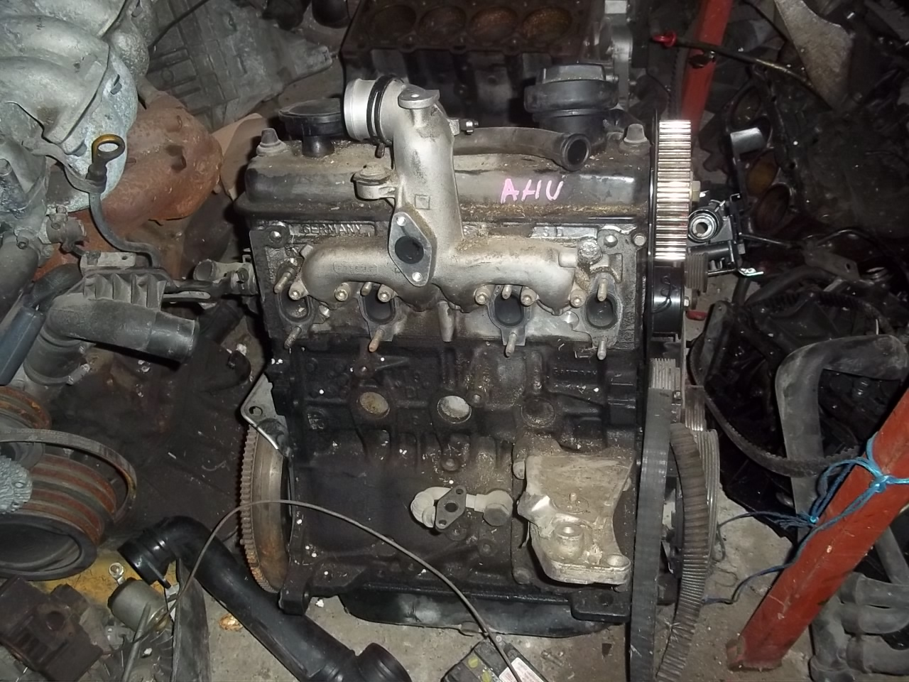 Motor vw passat 1.9 tdi ahu