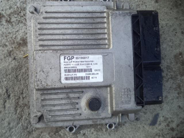Ecu Fiat Punto 1.3 multijet cod 55195817