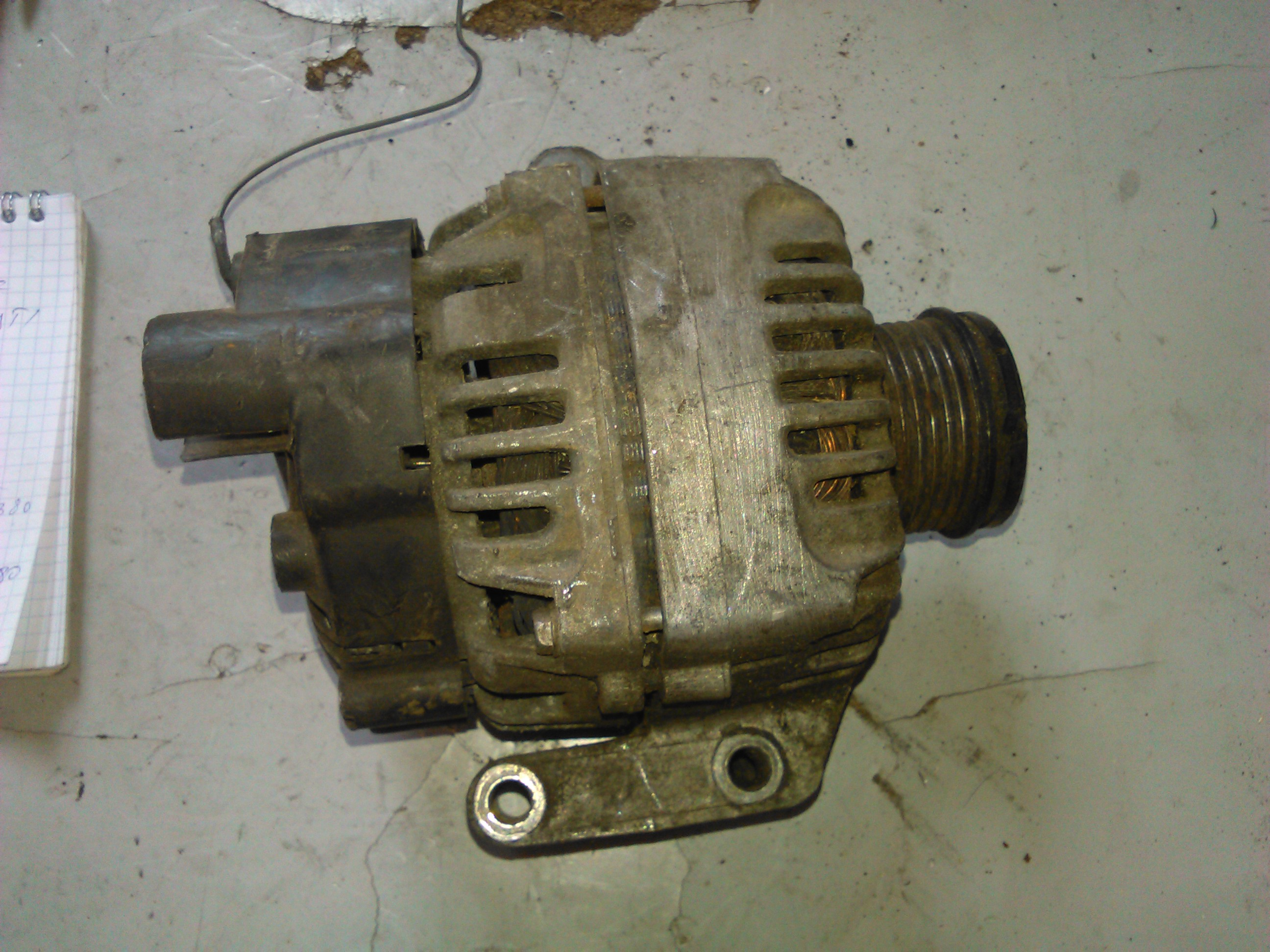 Alternator Fiat Doblo 1.3 d multijet cod 46823547