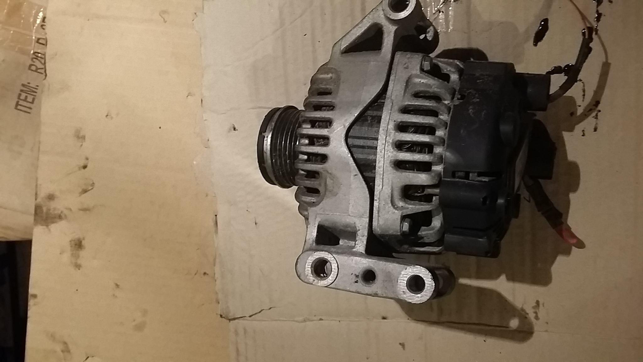 Alternator fiat doblo 1.3 multijet