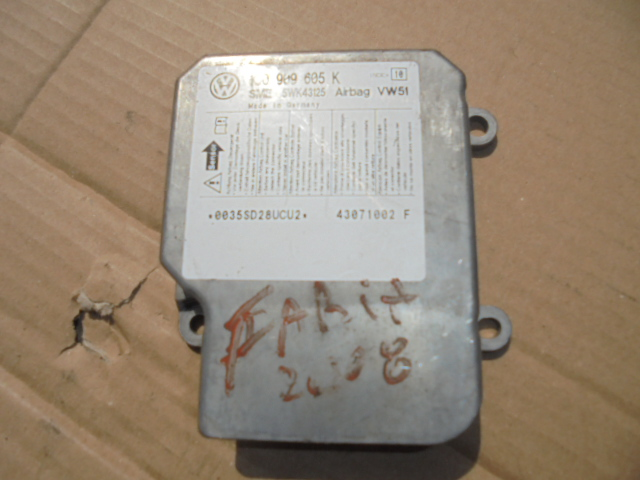 Calculator airbag Skoda Fabia 2008 cod 1c0909605k