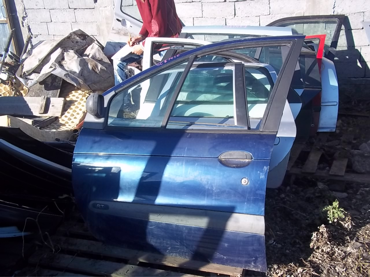 Usa stanga fata Renault Scenic