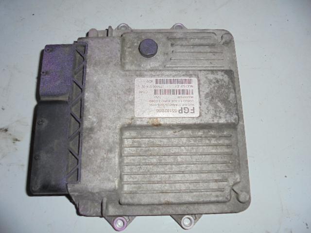 Ecu Fiat Doblo 1.3cdti cod 55182886