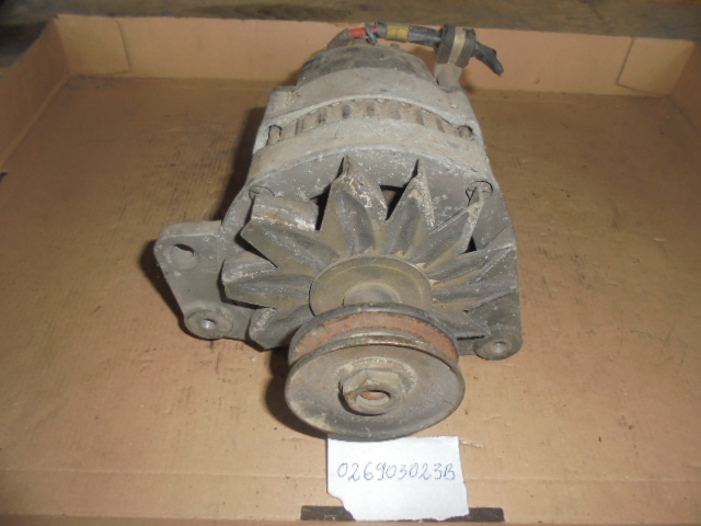 ALTERNATOR AUDI 100, 80, VW JETTA, LT, PASSAT, 1.8, 2.4, 1.3, 1.6, 1979-1996 COD 026903023b