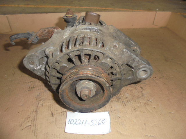 ALTERNATOR TOYOTA ECHO 1.5L, Toyota Yaris 1.3 Vvti cod 102211-5260 , 27060-21010