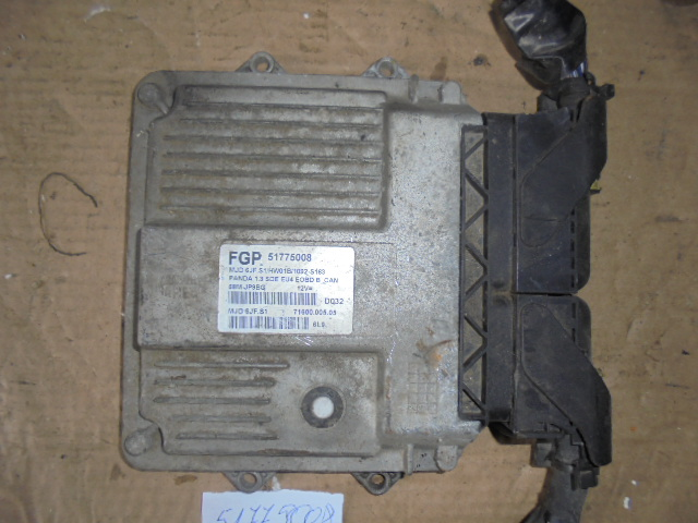 Calculator Fiat Panda 1.3 JTD cod 51775008 68MSITT2H