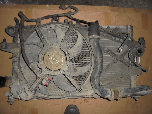 radiator apa ,radiator turbo,radiator clima,ventilatoare ,Opel Corsa C cod 8038845