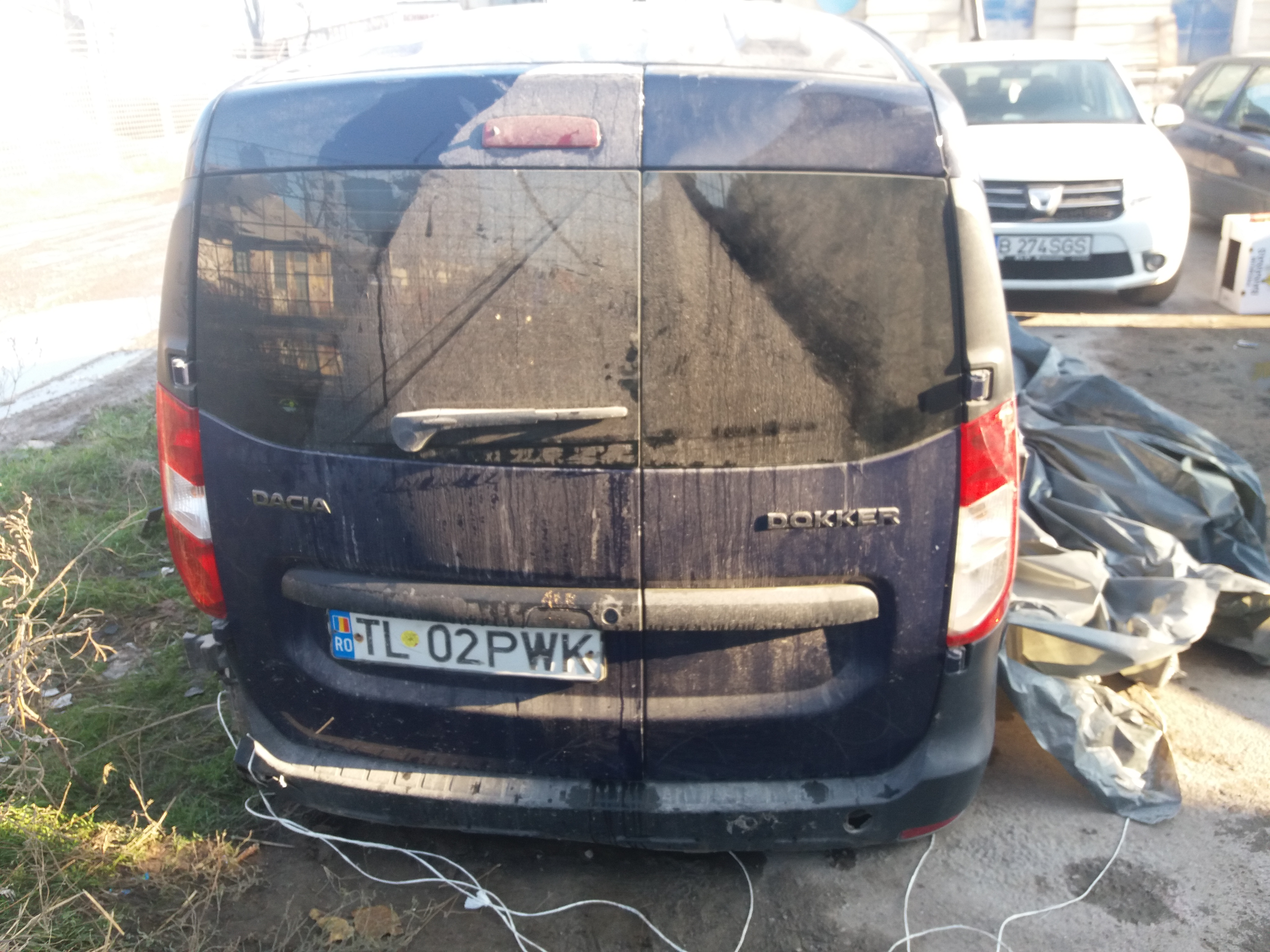 Dezmembrez Dacia Dokker 2014 Benzina 1 6