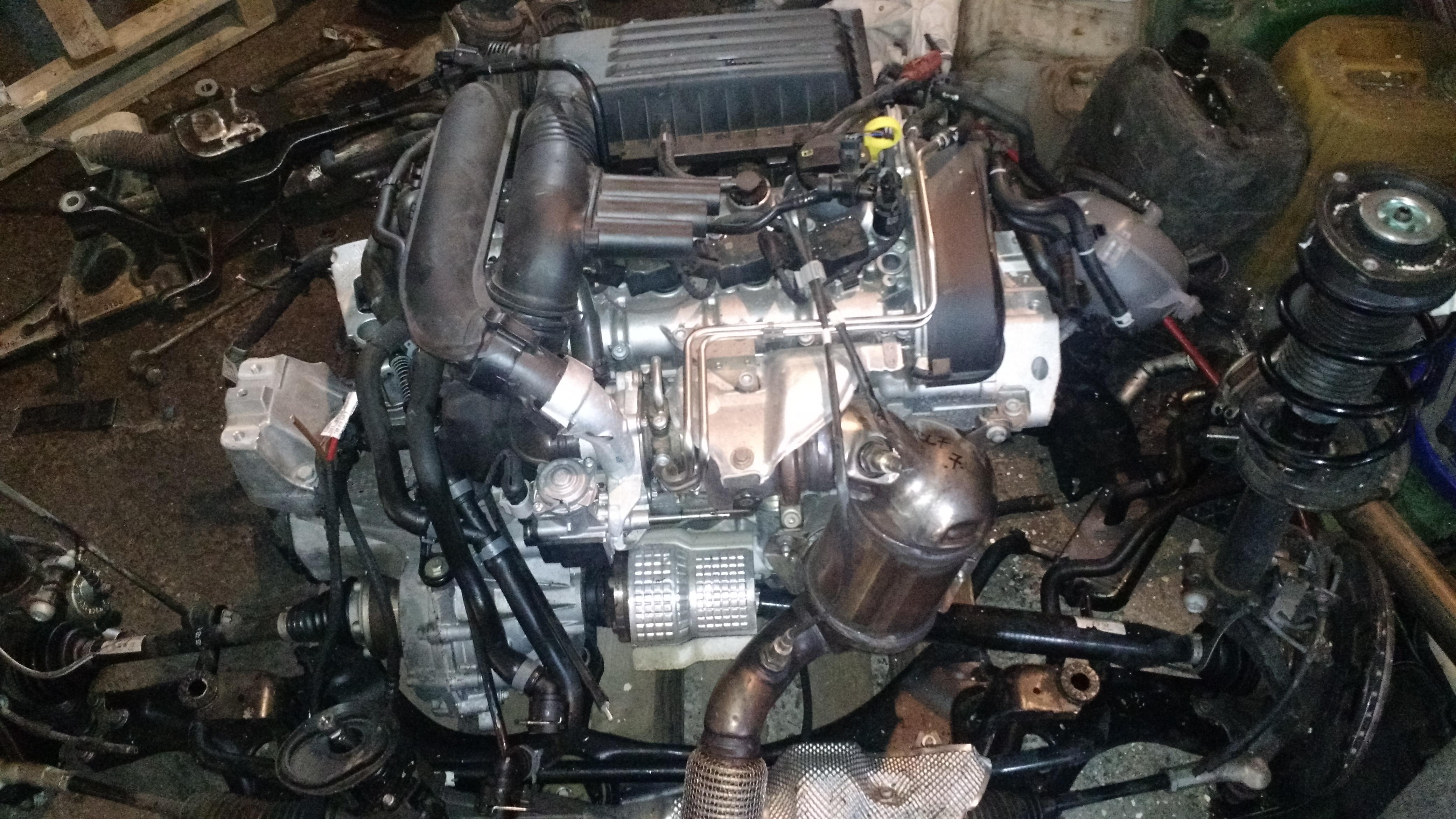 Vand motor pentru VW Golf 7 din 2012