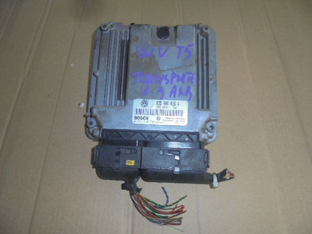 calculator ecu vw transporter 1.9 tdi cod motor axb  cod ecu 038906016a