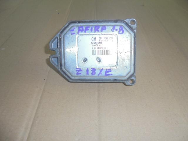 calculator motor ecu opel zafira motor 1.8 cod motor z18xe,cod ecu 09158726