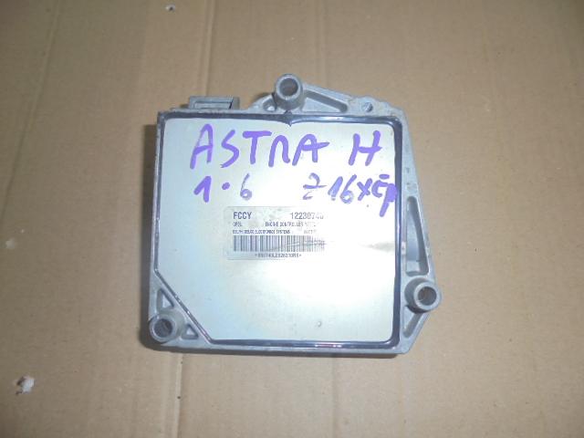calculator motor sau ecu opel astra h cod motor z16xep,cod ecu 12230740