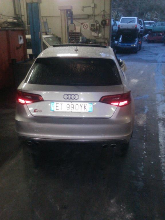Dezmembrez Audi S3 2.0 b din 2014