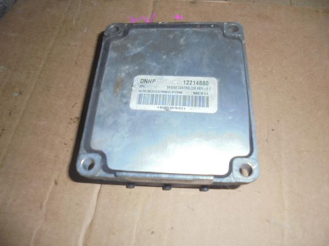ecu opel zafira astra motor 1.6 16V Z16XE, cod DNHP 12214880,hsfi2.1